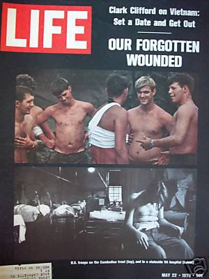 Life May 22, 1970 Vietnam Wounded