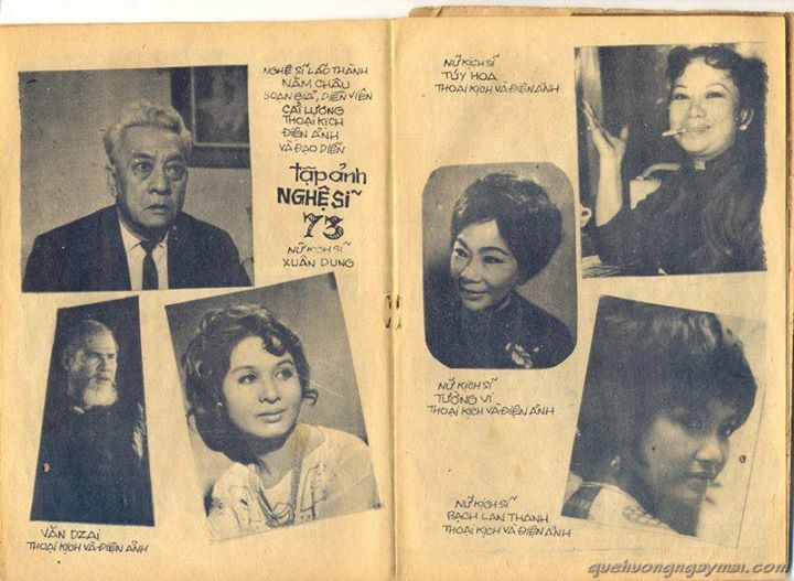 Nghe si mien Nam nam 1973. Trich tu FB Le Nhat Linh  Posted by Admin DN